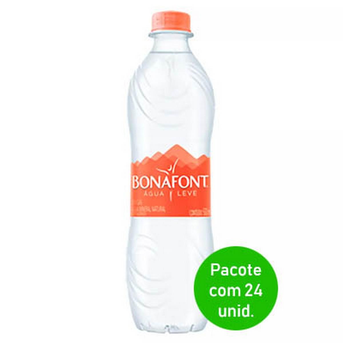 Preços de agua mineral no atacado